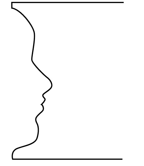 Exercise 1 Vase Face Drawing On The Right Side Of The Brain